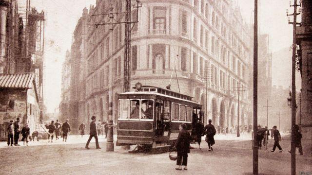 香港第一代電車