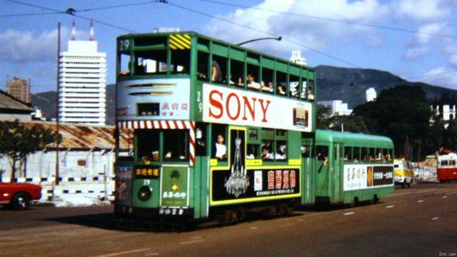 香港「拖卡」電車