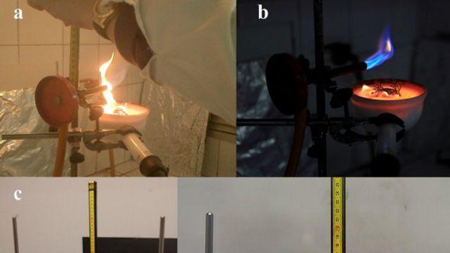Os testes de inflamabilidade foram realizados em laboratórios na Espanha e na Itália