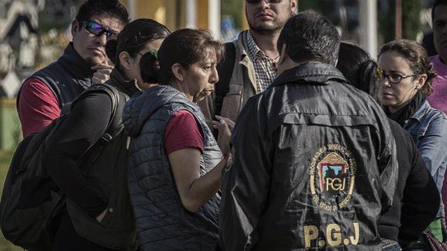Guadalupe Reyes, madre de una joven desaparecida