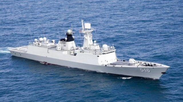 طی سالهای اخیر، چین حضور دریایی خود را گسترش داده است (عکس آرشیو)