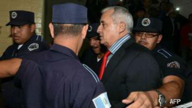 Expresidente de Guatemala Otto Perez Molina