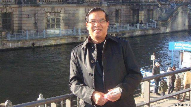 """Ông Lê Diễn Đức nói RFA bị """"áp lực dư luận rất nặng nề""""."""