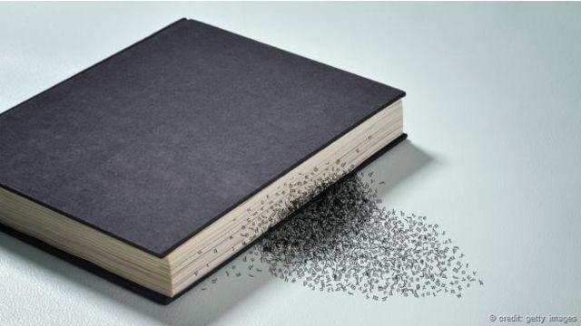 Un libro al que se le salen las palabras