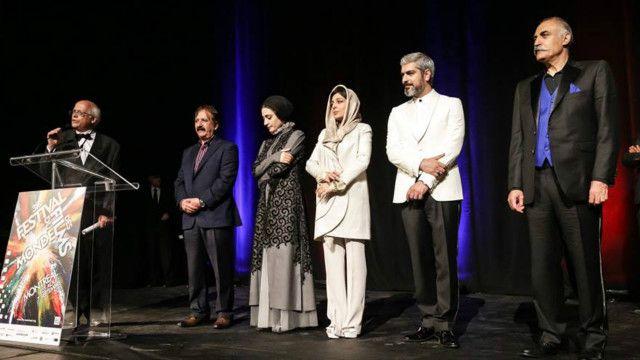 "عوامل فیلم ""محمد، رسول الله"" در سینما امپریال"