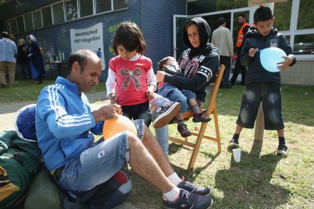 Беженцы  из Афганистана в Германии