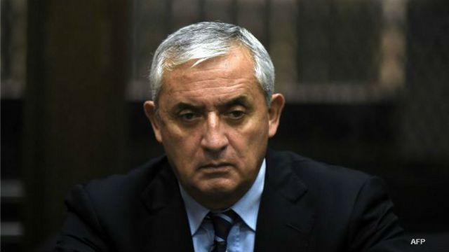 Expresidente de Guatemala Otto Pérez Molina