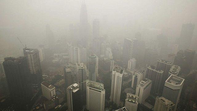 Kabut Asap di Singapura