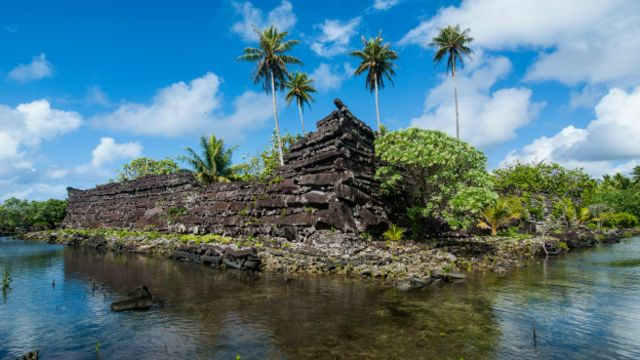 Город Нан-Мадол в Микронезии