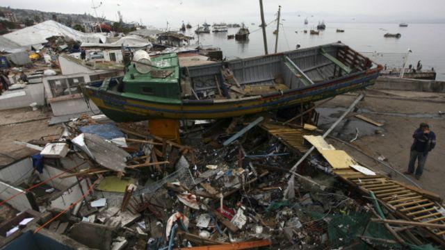 Los efectos del terremoto en la región de Coquimbo