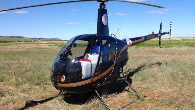 Вертолет Robinson R22