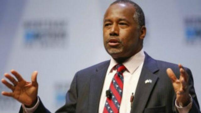 Ben Carson, precandidato republicano