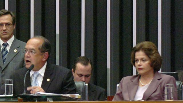 Gilmar e Dilma na Câmara, em 2009 (Photo: Diogenis Santos/Ag. Câmara)