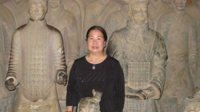 Bà Sandy Phan-Gillis sinh ra ở Việt Nam nhưng đã nhập tịch Hoa Kỳ