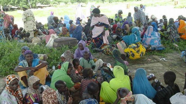 Wasu da rikicin Boko Haram ya raba da muhallansu a Najeriya