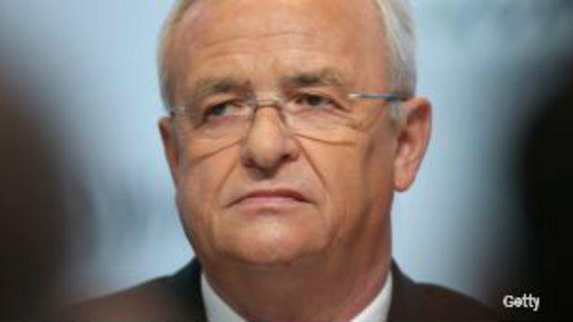 Martin Winterkorn, exdirector de Volkswagen.