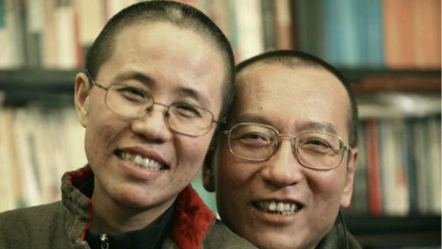 刘霞和刘晓波