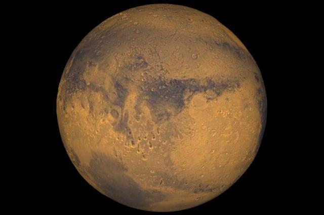 Imagem inédita de Marte | Foto: Reuters