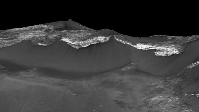 Aún no se sabe de dónde podría surgir el agua, pero una de las teorías apunta a que son acuíferos locales que salen a la superficie. Otra se inclina por la idea de que las sales absorben el agua de la atmósfera. Se cree también que es posible que los cursos de agua se formen de diferentes fuentes en distintos lugares del planeta.