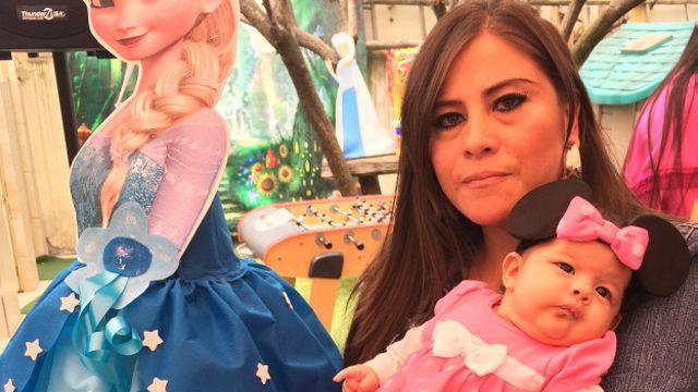 Maddison Nicole Salazar Gordon, de padres ecuatorianos, nació en mayo en Miami.