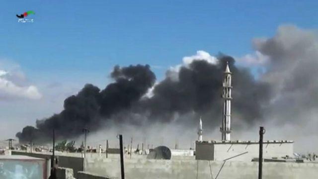 Бомбардировка Хомса