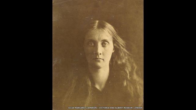 Джулия Джексон. Фото Джулии Маргарет Кэмерон, 1867 год