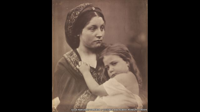 """Мир"". Джулия Маргарет Кэмерон,1864 год"