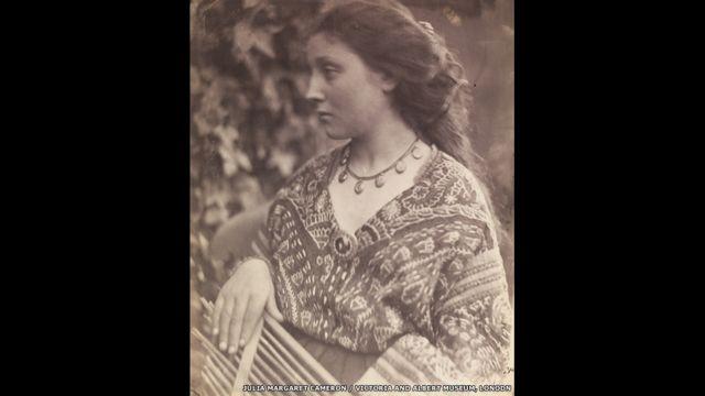 """""""Сапфо"""". Фото Фото Джулии Маргарет Кэмерон, 1865 год"""
