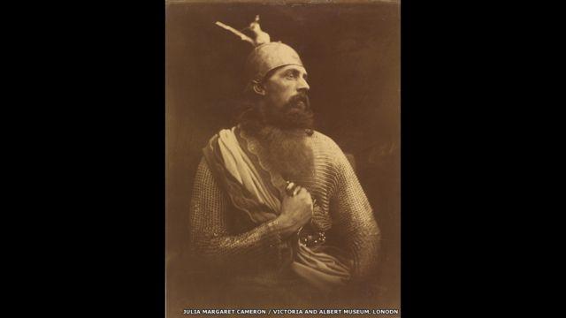 """Кончина короля Артура"". Фото Джулии Маргарет Кэмероню 1874 год."
