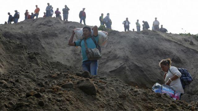 Deslave en Guateamala