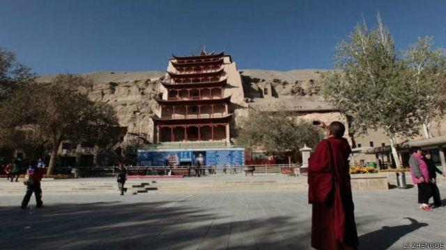 दुनहुआंग का बौद्ध भिक्षु