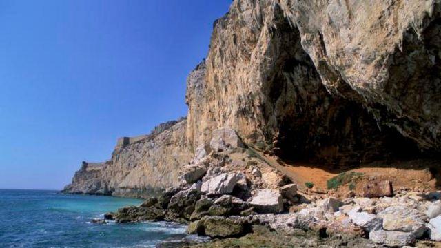 Cueva Gorham, en Gibraltar