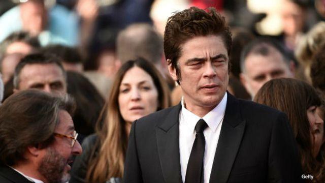 Benicio del Toro durante la presentación de la película en Cannes