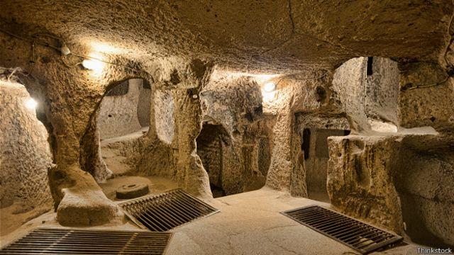 Подземный город Деринкую