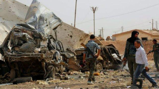 庫爾德民兵在阿拉伯叛軍的支持下,已經從「伊斯蘭國」手中奪回敘利亞北部大部分地區。