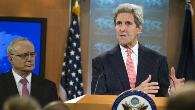 Ngoại trưởng Mỹ John Kerry và Đại sứ lưu động đặc trách Tự do Tôn giáo Quốc tế David Saperstein
