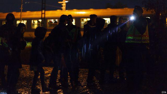 беженцы на границе