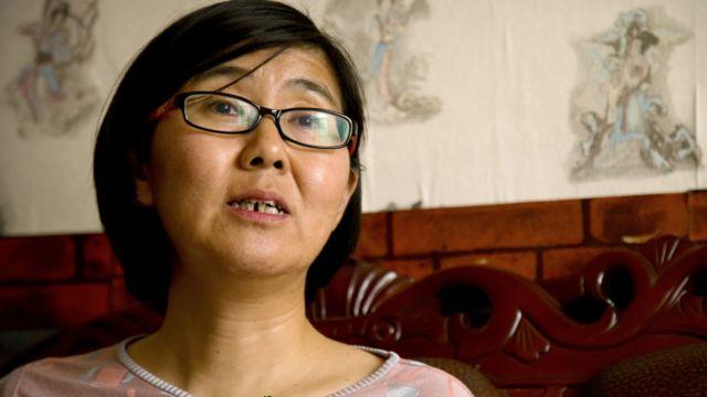 维权律师王宇在北京接受采访(18/4/2015)