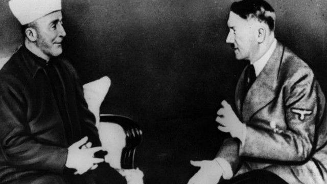 Quddusi sharif muftiysi Hoji Amin al-Husayniy 1941 yilda Gitler bilan uchrashgan