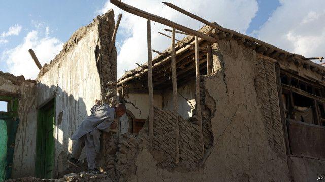 این زلزله در کابل هم به تعدادی از خانهها و ساختمانها آسیب رسانده است