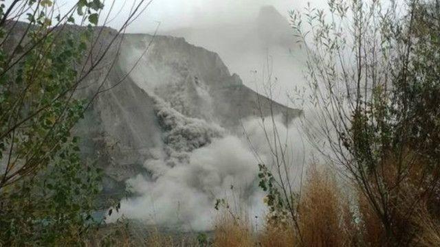 رانش زمین در دره هنزه در پاکستان گزارش شده است