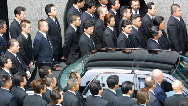 Miembros de Yamaguchi-gumi