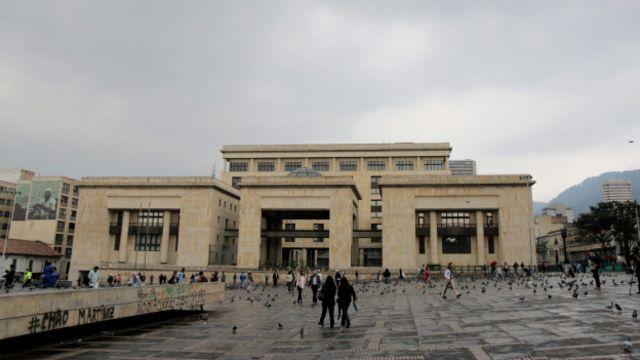 Palacio de Justicia hoy