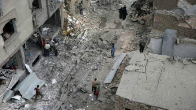 敘利亞廢墟