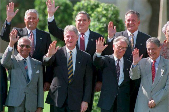La idea del ALCA fue lanzada en la cumbre de Miami en 1994.