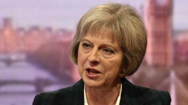 Bà Theresa May