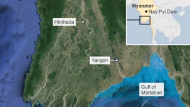 ဟင်္သာတ မြစ်ဝကျွန်းပေါ် ဒေသ။