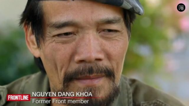 Ông Nguyễn Đăng Khoa là cựu thành viên Mặt Trận hiện ở San Jose