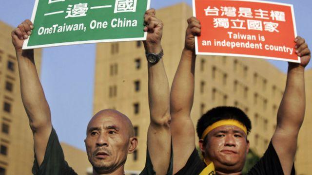 Independentistas taiwaneses