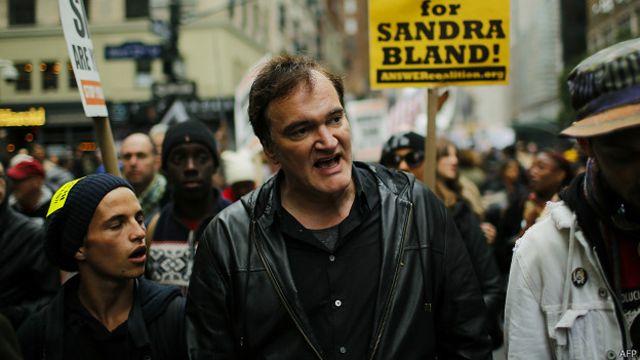 """Tarantino aseguró que """"el que esté en contra de la violencia policial no quiere decir que sea antipolicía""""."""